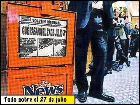 Comic newsstand 27 de julio