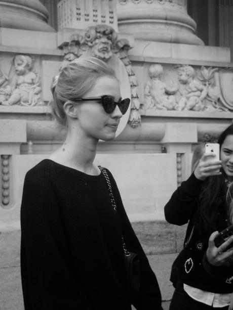 PFW Haute Couture street style (CHANEL)