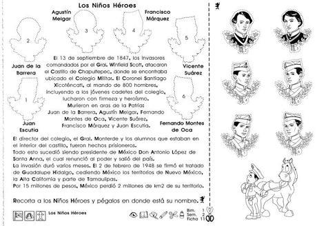 5to grado: Los niños héroes (México) - Paperblog