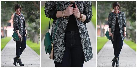 Mis Looks - El saco de encaje + 3 looks