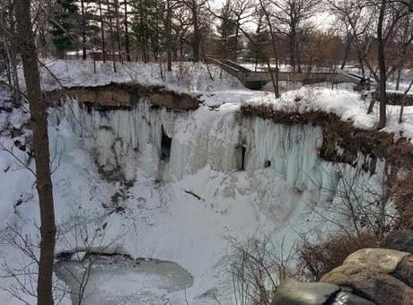 Minnehaha falls. Minneapolis. USA