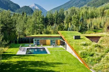 Casa Minimalista en las Rocky Mountains  /  Minimal House in Rocky Mountains