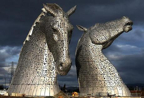Britain The Kelpies