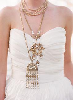Collares originales para una novia