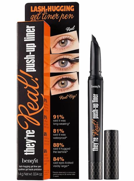 They're real! push-up liner de Benefit
