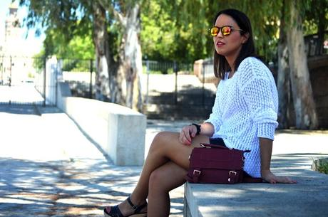 Outfit | White sweater