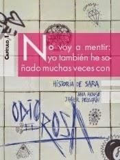 Reseña: Odio rosa. Historia Sara, Alonso Javier Pelegrín