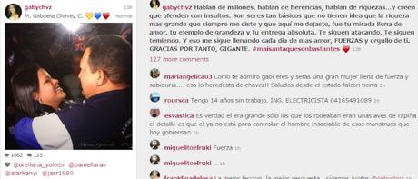 María Gabriela Chávez y sus millones en maíz