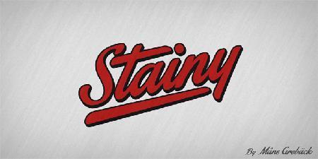 stainy_font_by_Saltaalavista_Blog