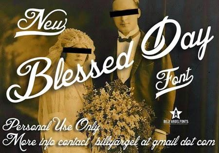 blessed_day_font_by_Saltaalavista_Blog
