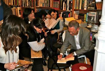 Firma de ejemplares en Madrid en la Librería Ocho y Medio