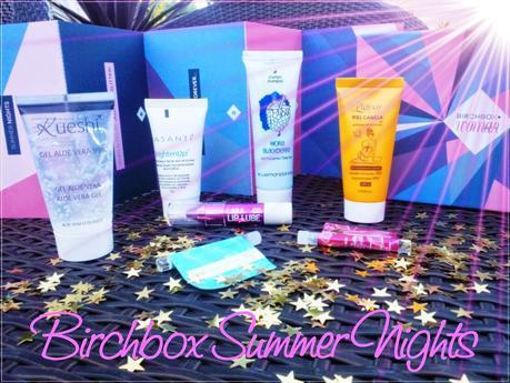 Birchbox Julio 2014 Summer Nights