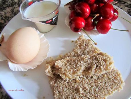 Tortilla de cerezas en el microondas paperblog - Tortilla en el microondas ...