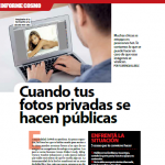 Entrevista de Cosmopolitan sobre la viralización de fotos