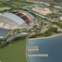 Singapore SportsHub / DPArchitects Rendering 9