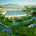 Singapore SportsHub / DPArchitects Rendering 7