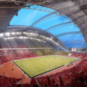 Singapore SportsHub / DPArchitects Rendering 2