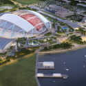 Singapore SportsHub / DPArchitects Rendering 13