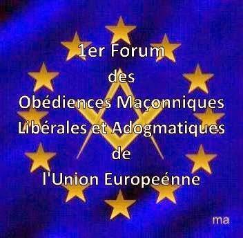 Declaración del 1er Fórum de organizaciones masónicas adogmáticas de la Unión Europea