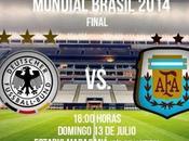 Alemania Argentina Final Mundial Brasil 2014