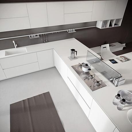 Las medidas de los muebles de cocina paperblog - Medida encimera cocina ...