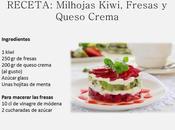 Milhojas Fresas, Kiwi Queso