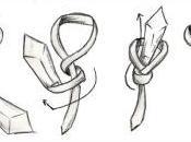 tres nudos corbata básicos