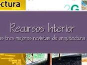 tres mejores revistas Arquitectura español