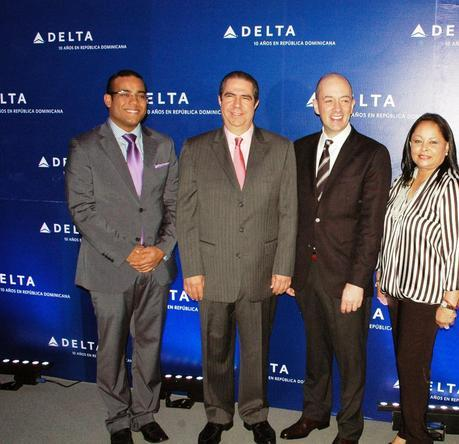 Delta Air celebra su 10º aniversario en RD