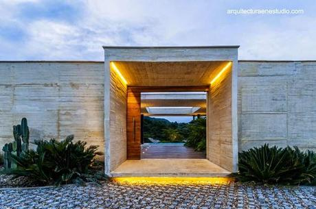 Casas modernas y contempor neas de dise os originales for Casas contemporaneas de una planta