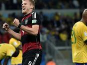 Brasil récord final. Cayó vergonzosamente ante aplanadora Alemania