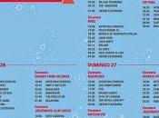Horarios Festival 2014