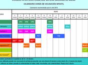 Calendarios vacunales 2014