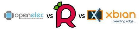 OpenELEC vs Raspbian vs XBian