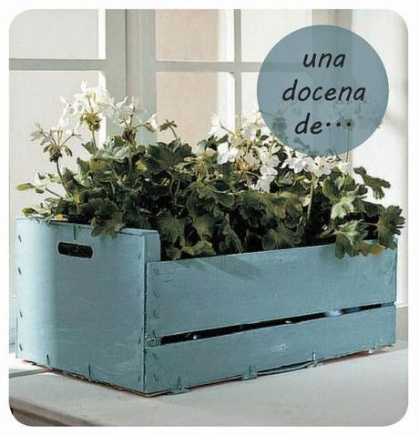 Deco 21 ideas geniales para decorar tu casa con cajas de - Ideas con cajas de frutas ...