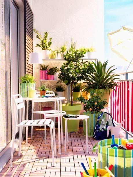 ideas y soluciones para terrazas pequeas