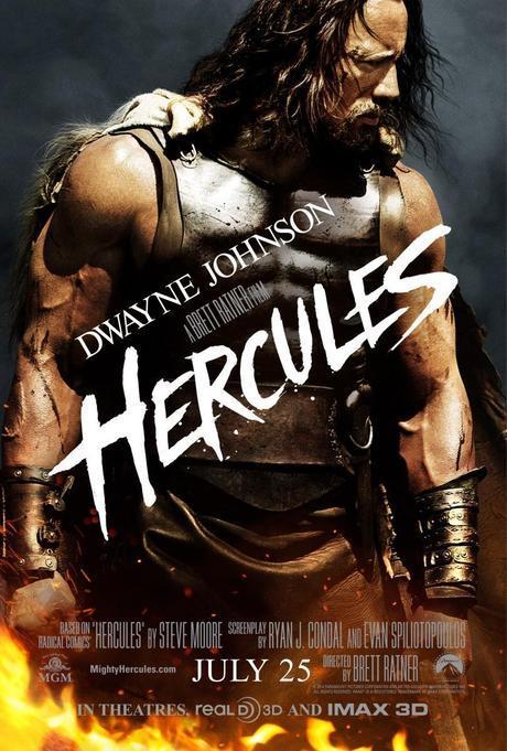 hercules dwayne johnson poster