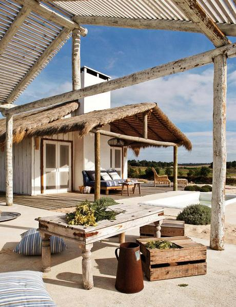 C mo decorar una casa en la playa nos vamos a comporta - Decoracion casas playa ...