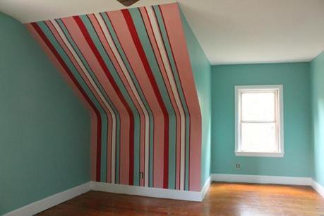 Decorar con rayas verticales paperblog - Paredes a rayas verticales ...