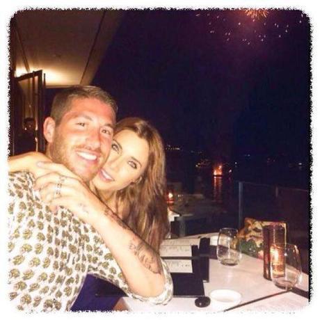Pilar Rubio y Sergio Ramos de vacaciones