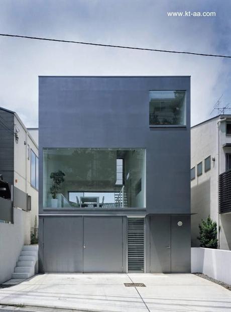 Casas modernas minimalistas paperblog for Casa minimalista japon
