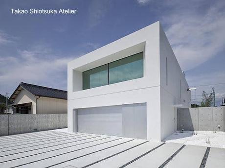 Casas modernas minimalistas paperblog for Casa minimalista japonesa
