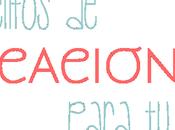 Cartelitos Vacaciones para Blog