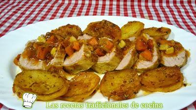 Recetario con recetas de carne paperblog Solomillo iberico al horno