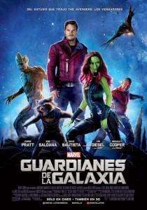 Póster latino oficial para Guardianes de la Galaxia