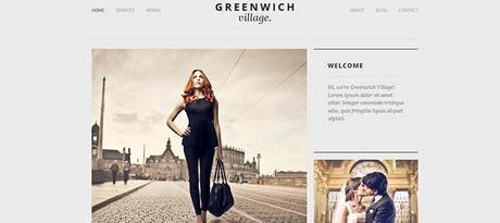 Greenwich Village Responsive Web Theme WordPress