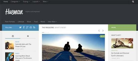Hueman Responsive Web Theme WordPress