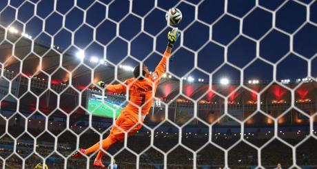 No tengo duda: El primer gol de James Rodríguez a Uruguay fue el mejor Brasil 2014-