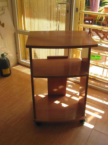 De mesita de tv a carrito para la cocina paperblog - Carrito para cocina ...