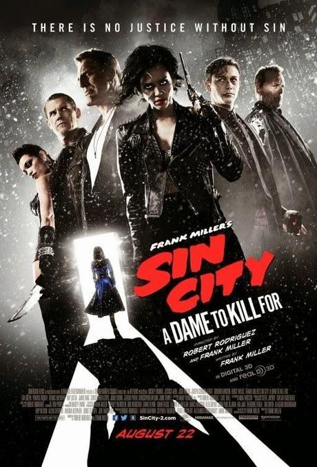 Sin City A Dame to kill for presenta dos nuevos pósters